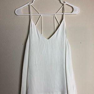 H&M white tank blouse